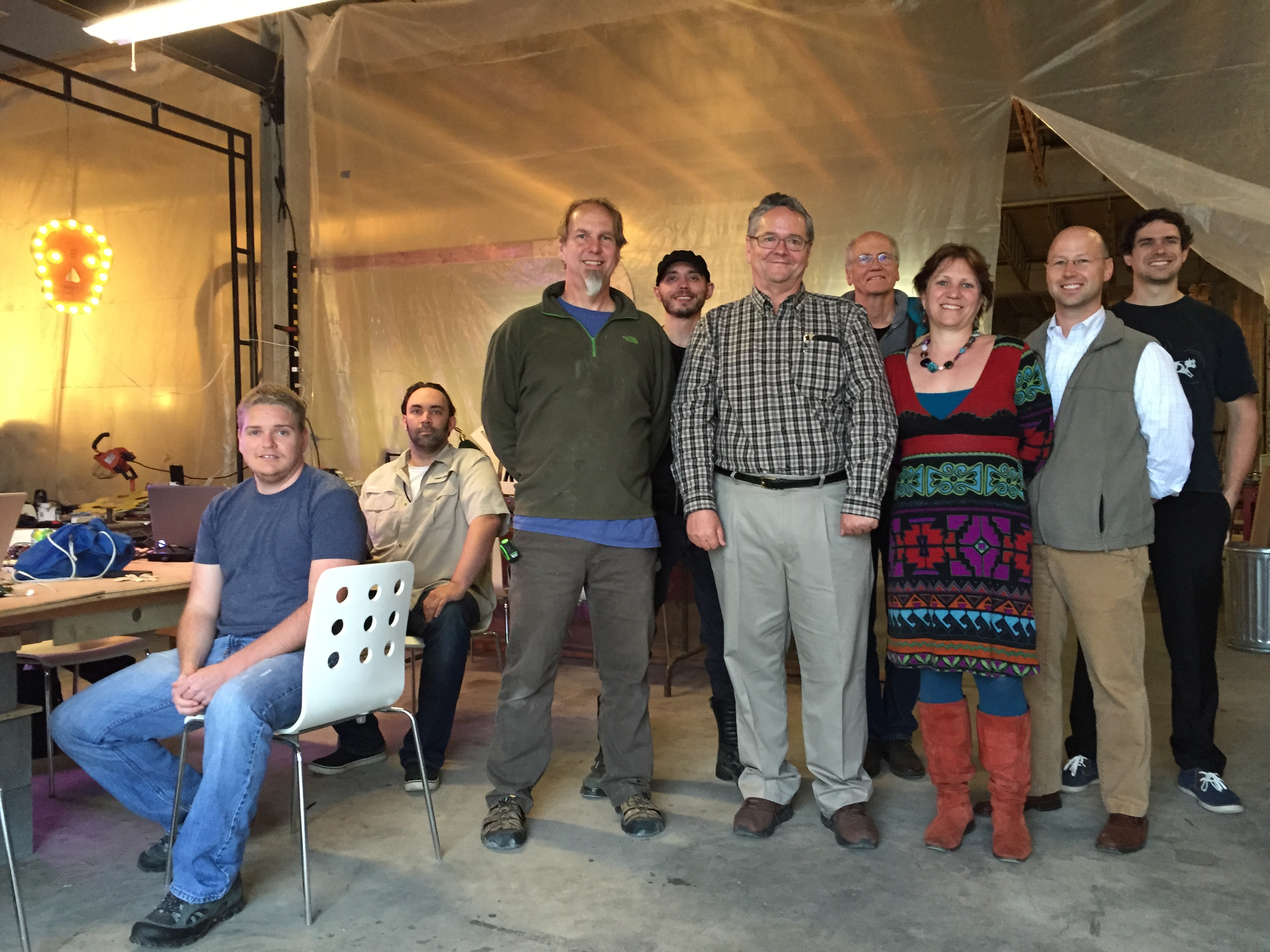 Dale Dougherty Visits Tinkersmiths Makerspace in Charlottesville VA