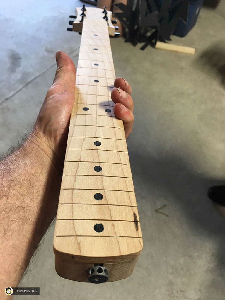 Custom Custom Fretboards by Tinkersmiths Makerspace Charlottesville Va